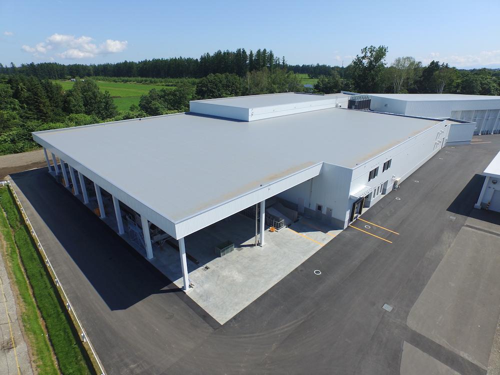 農産処理加工施設-第二工場