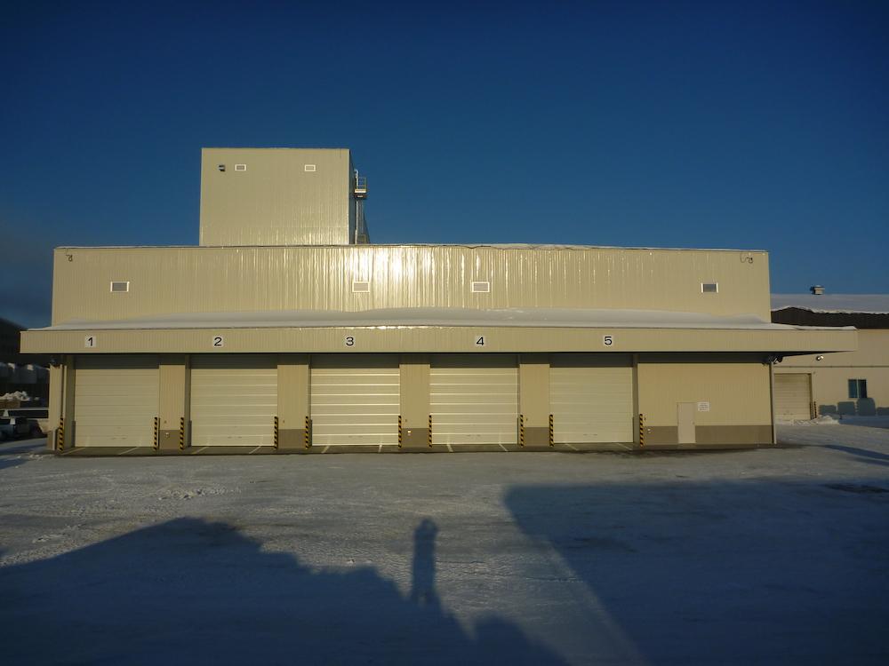 JA帯広かわにし-長いも製品保管庫・出荷施設